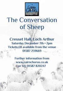 The Conversation of Sheep @ Cresset Hall, Loch Arthur