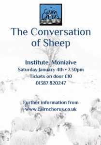The Conversation of Sheep @ Glencairn Memorial Institute